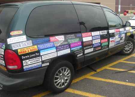 The Sticker Van