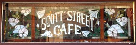 Scott Street Sign