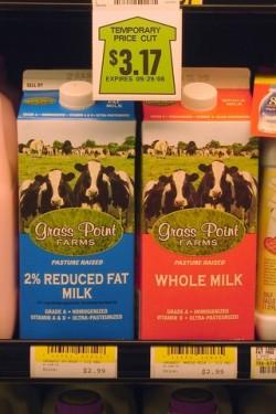 Grass Point Dairy Milk at IGA