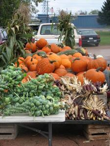 Fall at the Farmers Market