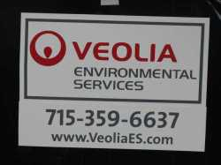 Veolia sign