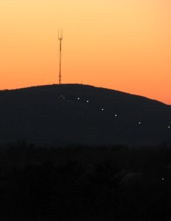 Sunset over Rib Mountain
